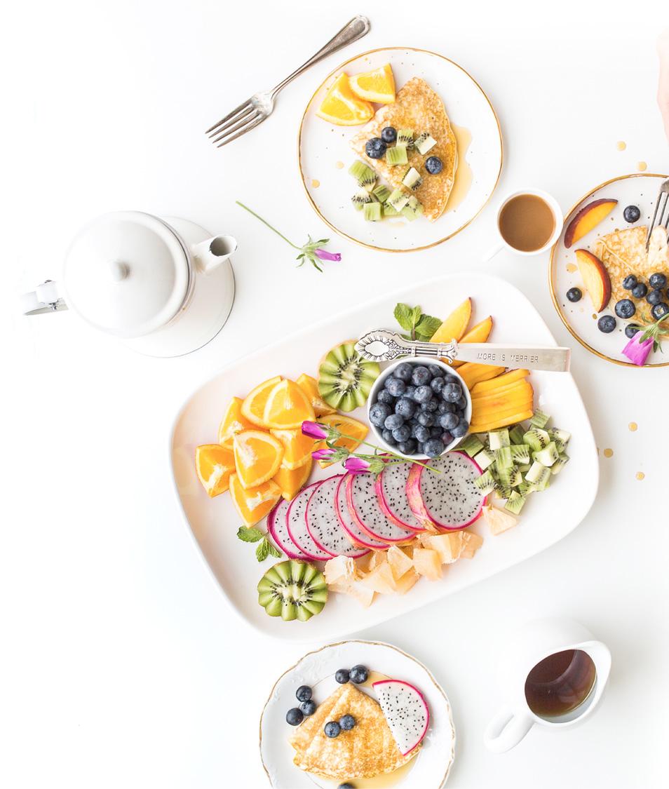 Immagine piatti frutta